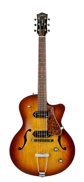 032327 5th Avenue CW Kingpin II Cognac Burst Электрогитара арктоп, с чехлом. Godin